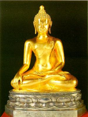 พระพุทธรูป ทองคำ