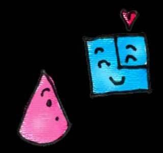 ความรักของวงกลมกับสามเหลี่ยม