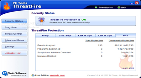 ThreatFire  AntiVirus Free Edition 3