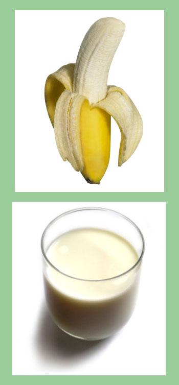 กล้วย นม