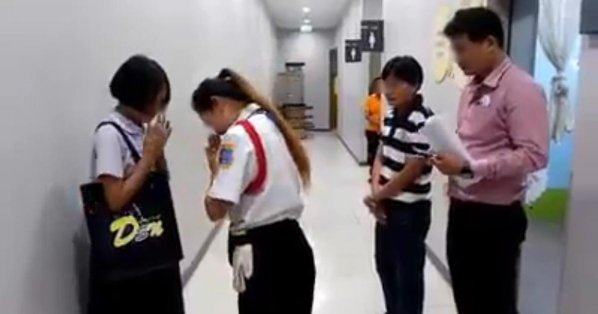 เด็กร้องไห้ โดนยามจับใส่เสื้อนักเรียนใหม่เดินห้าง ล่าสุดโลตัสขอโทษแล้ว