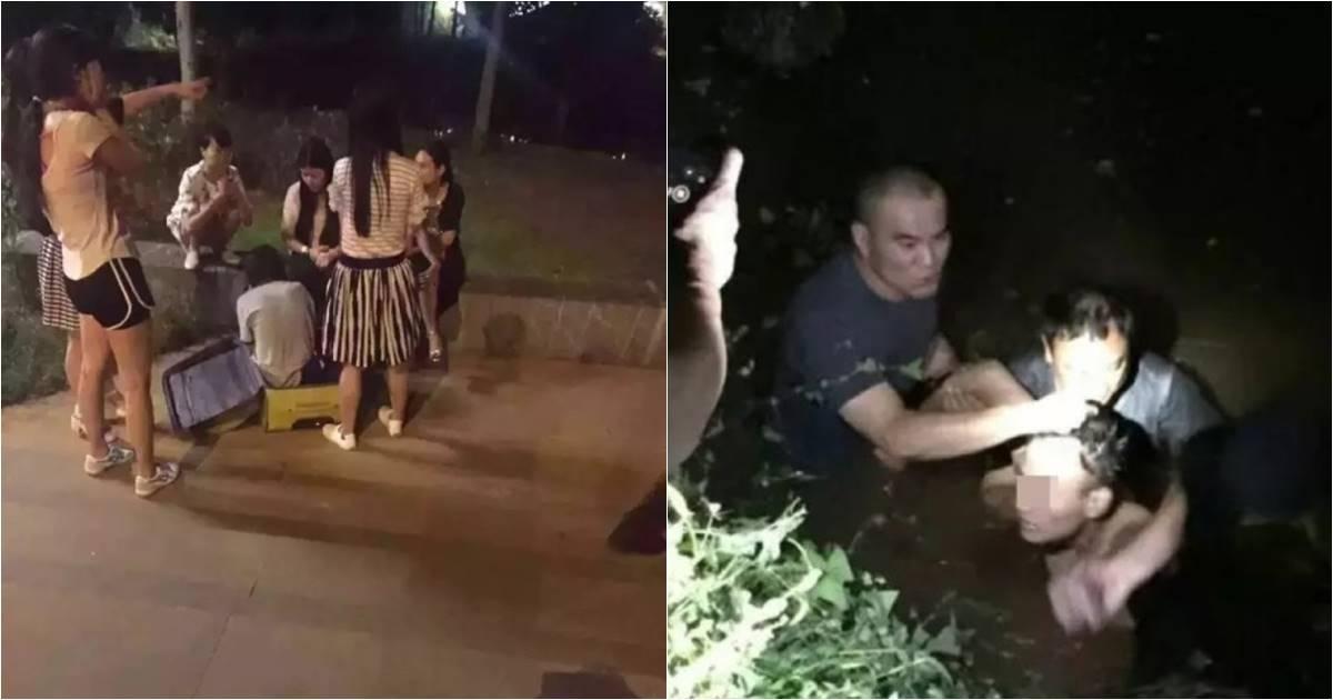 หวิดสยอง พลเมืองดีช่วยสาวถูกข่มขืน-ยัดกระเป๋าเดินทางมาทิ้ง (มีคลิป)