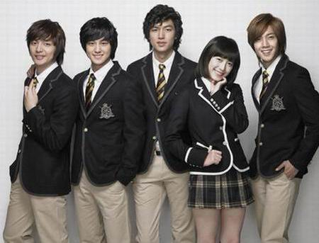 F4 เกาหลี Boys Over Flowers