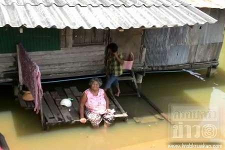 ข่าวน้ำท่วม น้ำท่วมพัทลุง