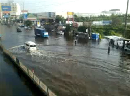 น้ำท่วมบางใหญ่