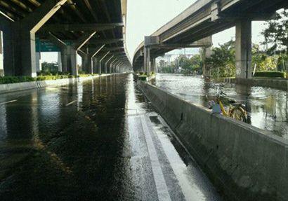 น้ำท่วมดอนเมือง