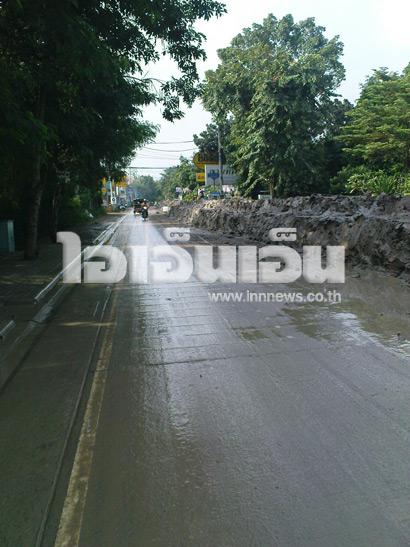 น้ำท่วมนนทบุรี