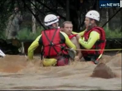 น้ำป่าไหลหลากฉับพลัน ออสเตรเลีย