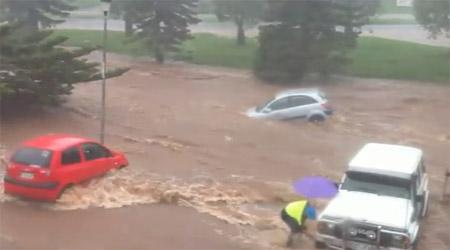 น้ำท่วมออสเตรเลีย