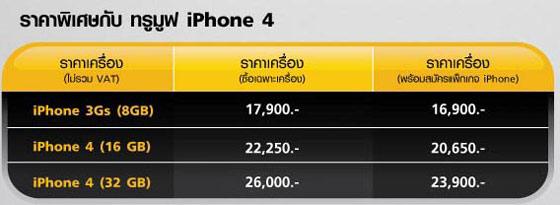 iPhone 4 ราคา iPhone 4