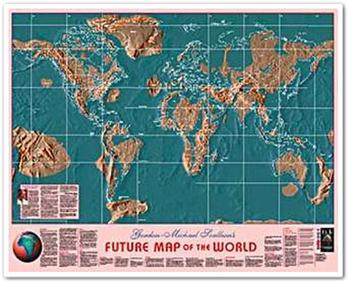 แผนที่โลกใหม่ หลังปี ค.ศ. 2012 (พ.ศ. 2555)