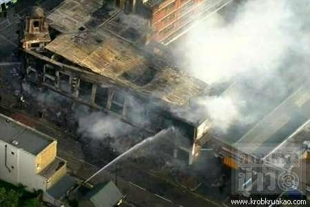 ลอนดอนเดือด ผู้ประท้วงเผารถ-บ้านเสียหาย เหตุไม่พอใจตำรวจ