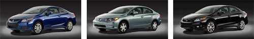 New!! Honda Civic 2012 โฉมใหม่ไฉไลกว่า