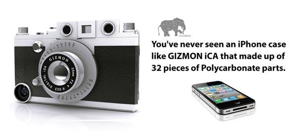 เคสไอโฟน กลายร่างเป็นกล้องคลาสสิค