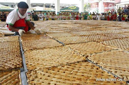 โอ้โห! พายมะม่วงที่ใหญ่ที่สุดในโลก