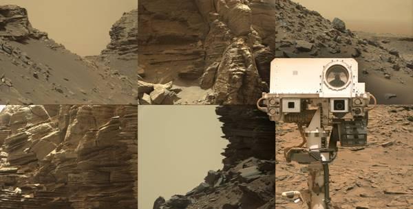 NASA เผยภาพถ่ายพื้นที่หินบนดาวอังคารชุดใหม่ ดูคล้ายกับหินบนโลก