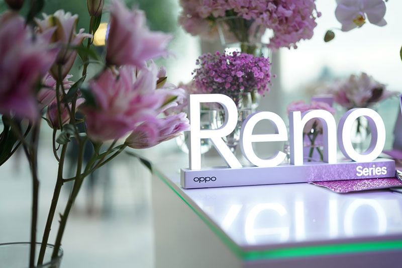OPPO Reno Series Sunset Rose