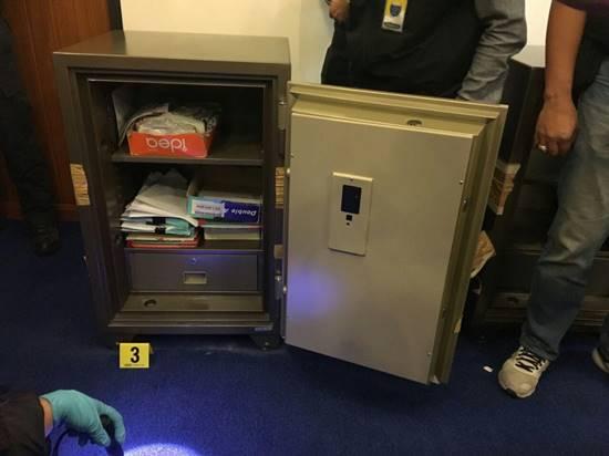 DSI งัดตู้เซฟ