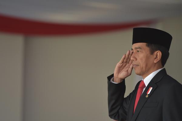 ประธานาธิบดีโจโก วิโดโด ของประเทศอินโดนีเซีย
