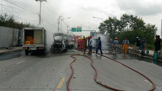 รถแก๊สระเบิดย่านหทัยราษฎร์