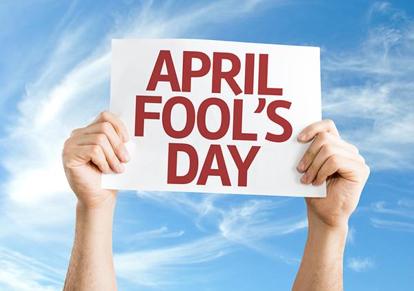 วันโกหก april fool's day