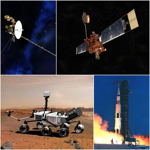10 ชื่อยานอวกาศ ที่ประวัติศาสตร์ต้องจดจำ