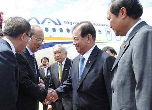 ข่าวการเมือง เต็ง เส่ง เยือนไทย