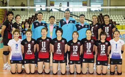 นักกีฬาวอลเลย์บอลหญิง ทีมชาติไทย