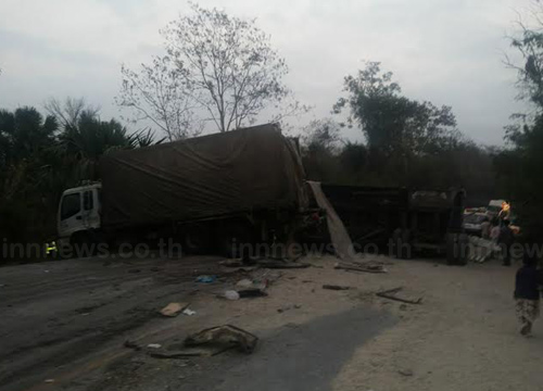 รถทัศนศึกษาโรงเรียนบ้านดงหลบคว่ำ เสียชีวิตเพิ่มเป็น 16 ศพ