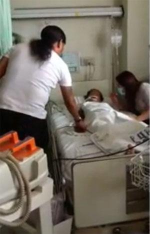 หญิงป่วยมะเร็งฟื้นคืนชีพ หลัง พี่เป้า สายันห์ สัญญา มาเยี่ยม