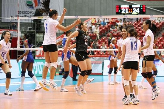 นักวอลเลย์บอลหญิงทีมชาติไทย