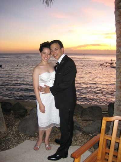 คุณพลอยไพลิน เจนเซ่น แต่งงาน