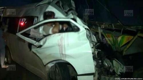 ข่าวรถตู้ปราจีน-กรุงเทพ ชน 9 ศพ