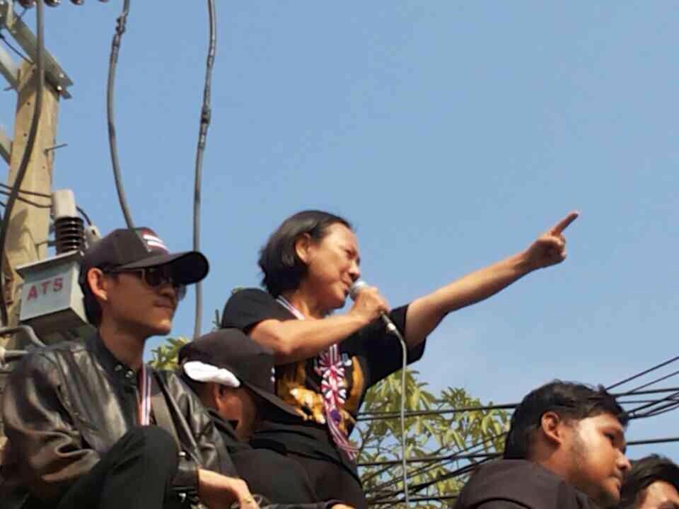 เจ๊ปอง อัญชลี เตรียมนำ กปปส. บุกบ้านยิ่งลักษณ์-ตำรวจคุมเข้ม