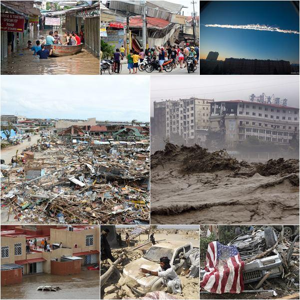 ย้อนดู 10 เหตุการณ์ภัยพิบัติแห่งปี 2556