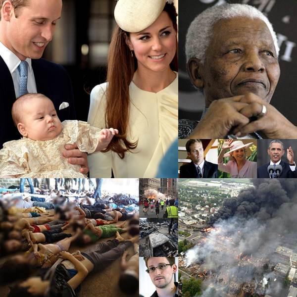 15 ข่าวเด่นรอบโลก ประจำปี 2556