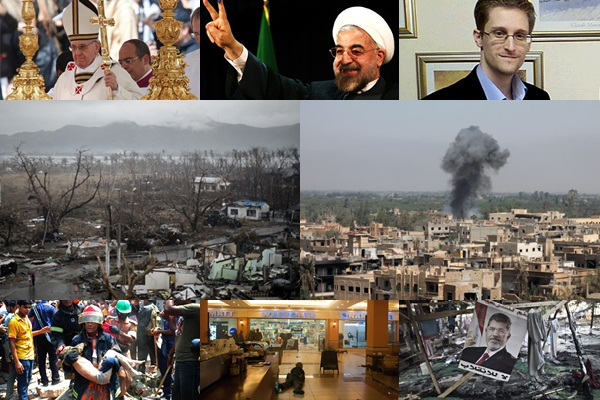 TIME เผยอันดับ 10 ข่าวดังจากทั่วโลก ประจำปี 2556