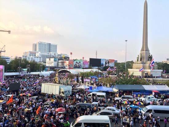 ตำรวจประเมินม็อบปิดกรุงเทพฯ 7 จุด กว่า 3 หมื่นคน