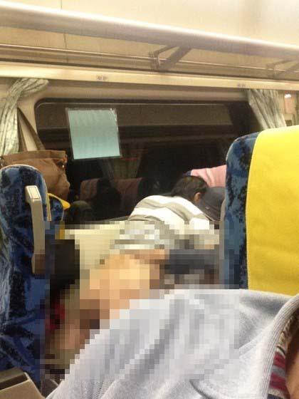 สามีภรรยามีเซ็กส์บนรถไฟไต้หวัน อ้างห้ามใจไม่ไหว