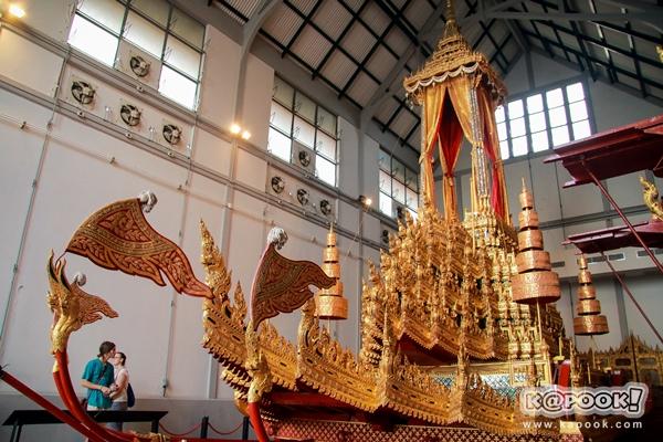 พระมหาพิชัยราชรถ ราชรถที่ใช้ในพระราชพิธีถวายพระเพลิงพระบรมศพ