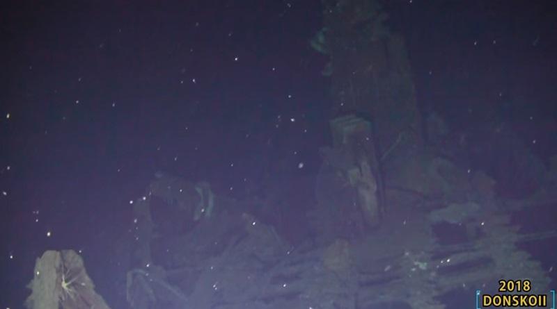 ซากเรือ Dimitrii Donskoi เรือรบของรัสเซีย