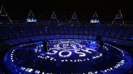 คลิปภาพพิธีเปิดโอลิมปิก 2012 27 july
