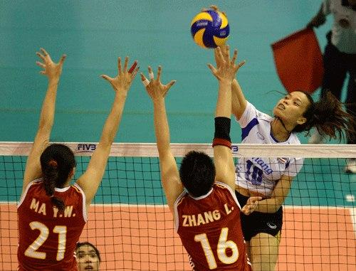 วอลเลย์บอลไทย จีน