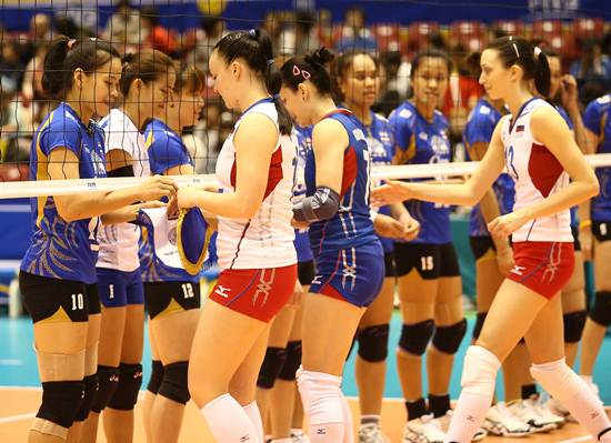 วอลเลย์บอลหญิงไทย รัสเซีย