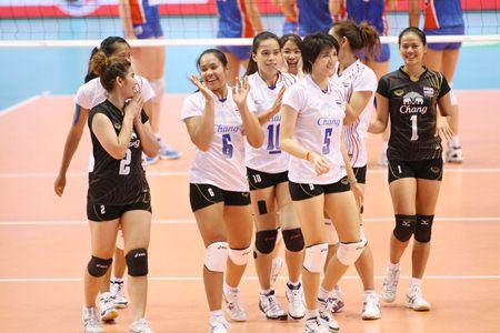 ผลวอลเลย์บอลสาวไทย โอลิมปิก 2012