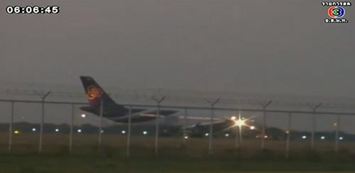 เครื่องบินการบินไทยขัดข้อง