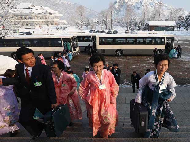 ทริปพบญาติ เกาหลีเหนือ เกาหลีใต้