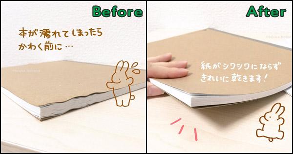 วิธีแก้หนังสือเปียกน้ำ