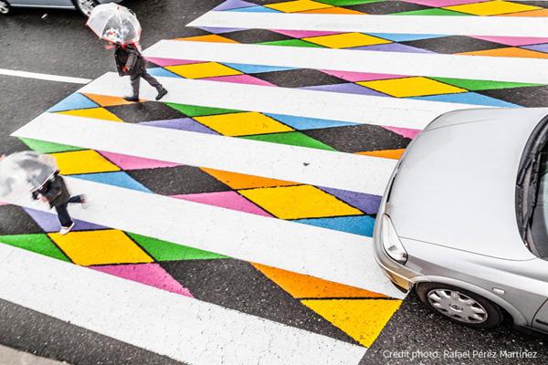 ศิลปะบนถนน