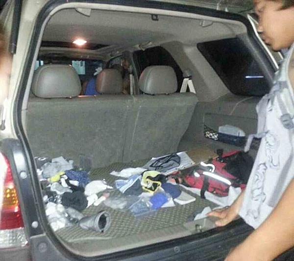 รวบหนุ่มขโมยกางเกงในชาย ตะลึงเจอของกลางในรถนับร้อยตัว